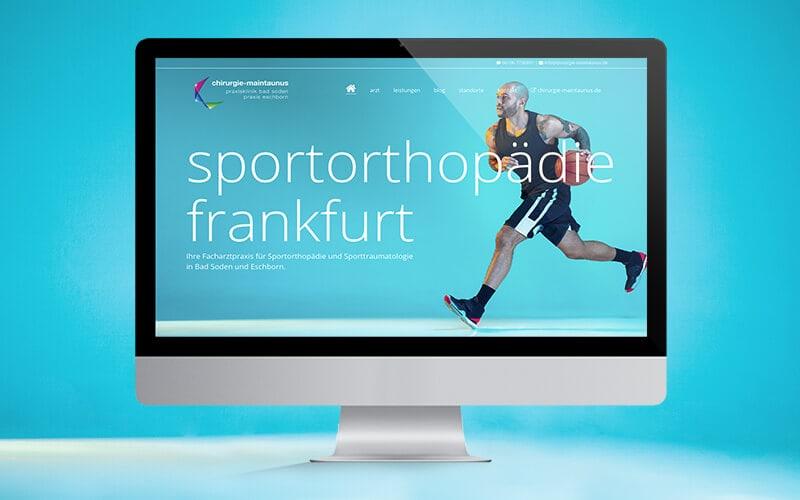 Sportorthopäde Frankfurt