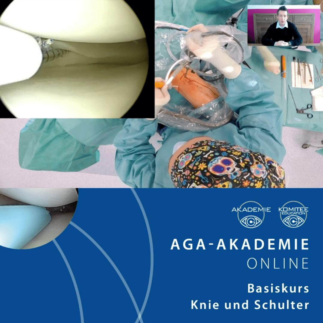 Lutz Nitsche AGA Arthroskopiekurs Education Komitee Nürnberg Erlangen all-inside Meniskusnaht