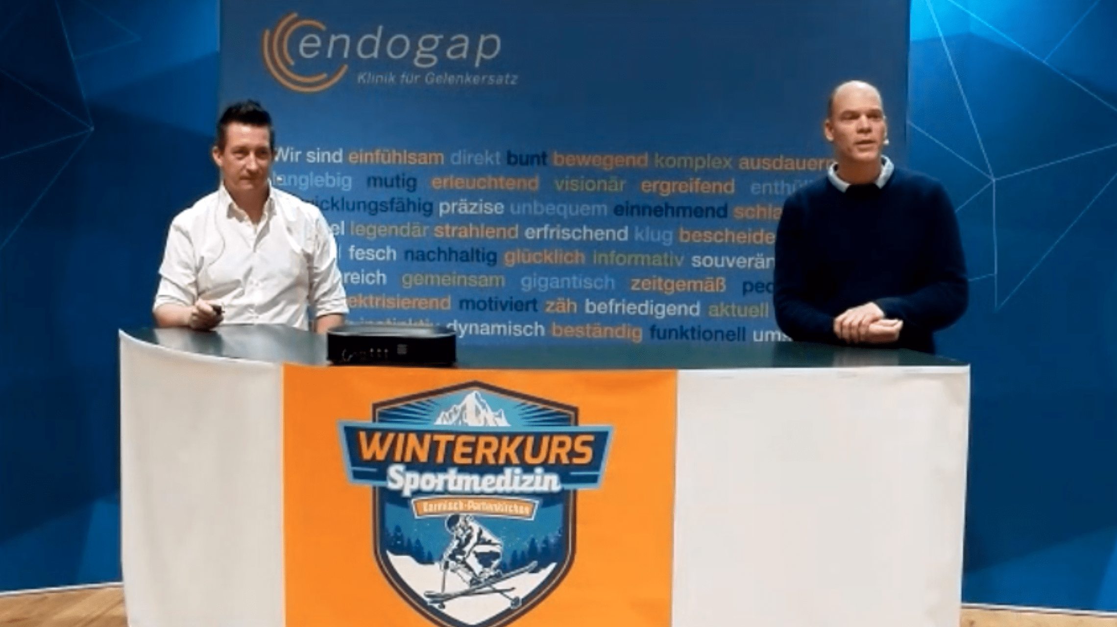 Onlinekurs Sportmedizin Winterkurs 2021 Björn Michel und Lutz Nitsche
