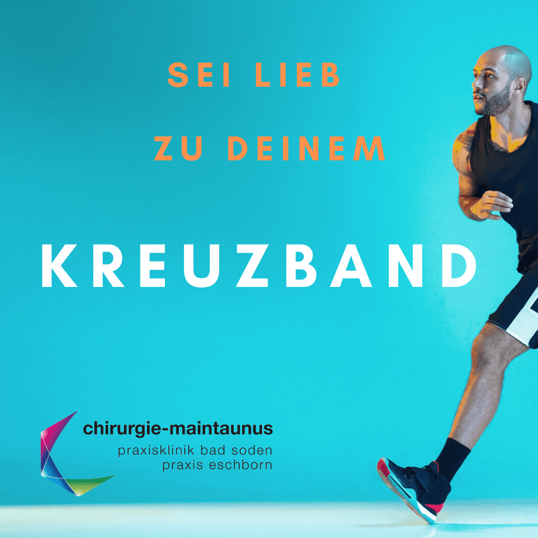 Sei lieb zu Deinem Kreuzband Sportorthopaede Frankfurt-2